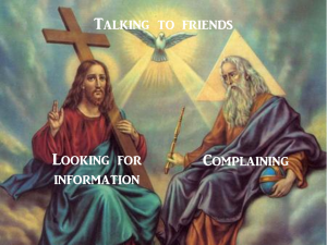 Blessed Trinity of Social Media